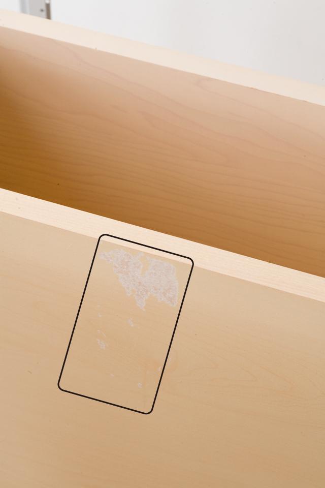 無印良品の「スチールユニットシェルフ・木製棚のボックス・引出し・1段とワイヤーバスケット・グレー3段のセット」-07a