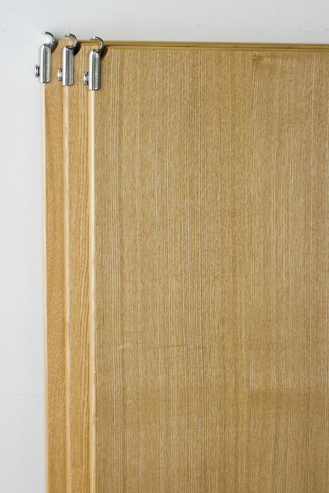 無印良品「ステンレスユニットシェルフ・タモ材棚3段セット」-11