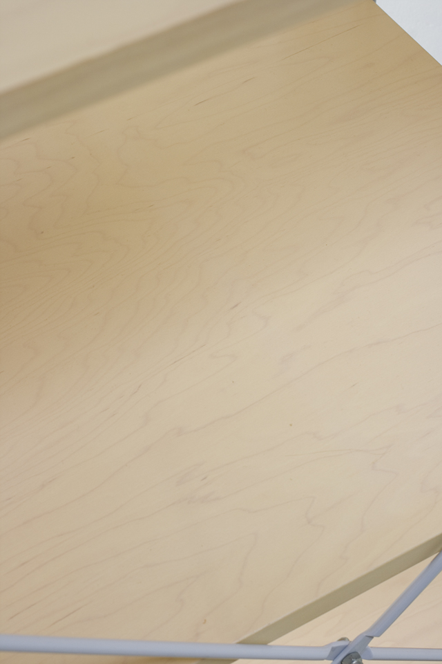 無印良品「スライドドア付き・スチールユニットシェルフ・木製棚セット」-09