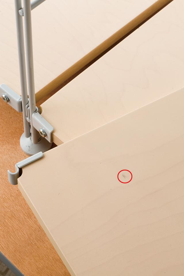 無印良品「スライドドア付き・スチールユニットシェルフ・木製棚セット」-10a