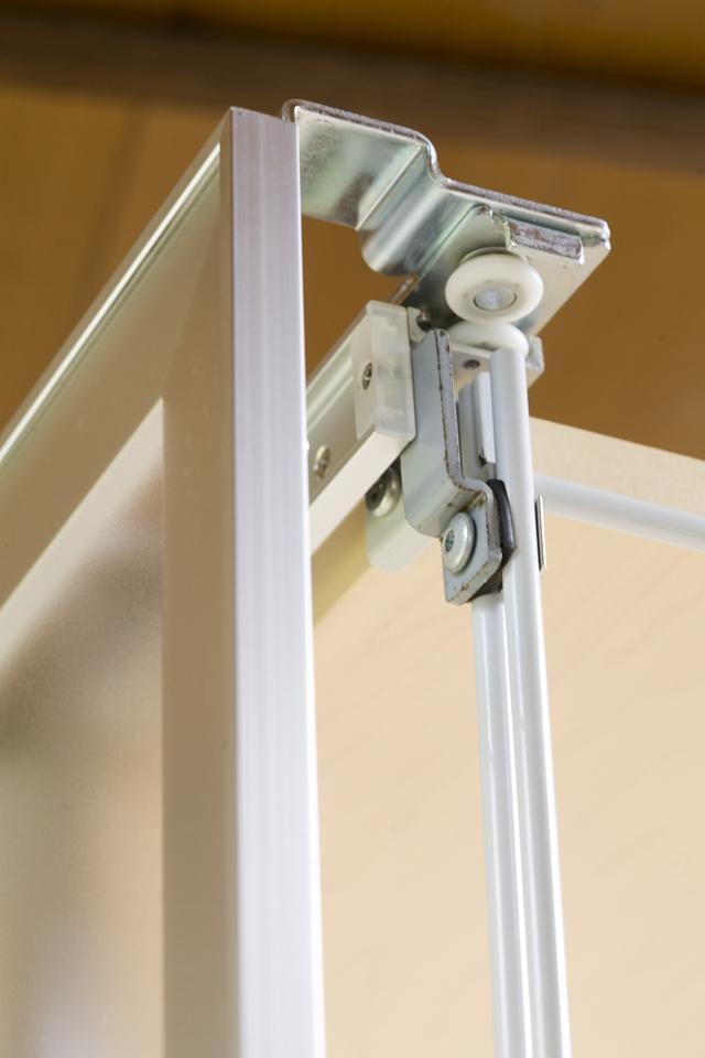 無印良品「スライドドア付き・スチールユニットシェルフ・木製棚セット」-12