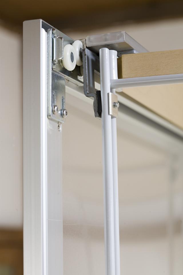 無印良品「スライドドア付き・スチールユニットシェルフ・木製棚セット」-14