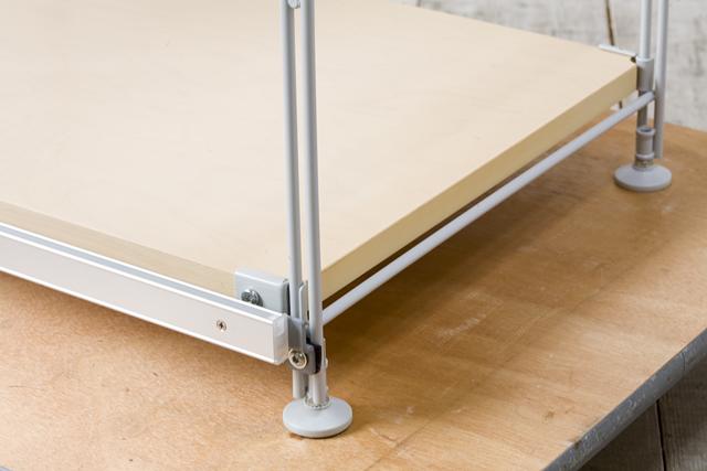 無印良品「スライドドア付き・スチールユニットシェルフ・木製棚セット」-19