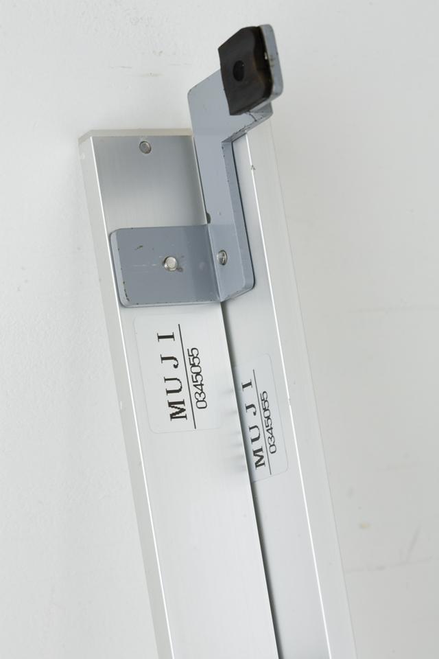 無印良品「スライドドア付き・スチールユニットシェルフ・木製棚セット」-21