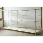 無印良品「スチールユニットシェルフ・木製棚3段セット」