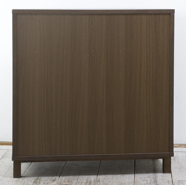無印良品「タモ材キャビネット・木製扉|ブラウン」-05