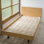 無印良品「無垢材ベッド・オーク材・シングル」