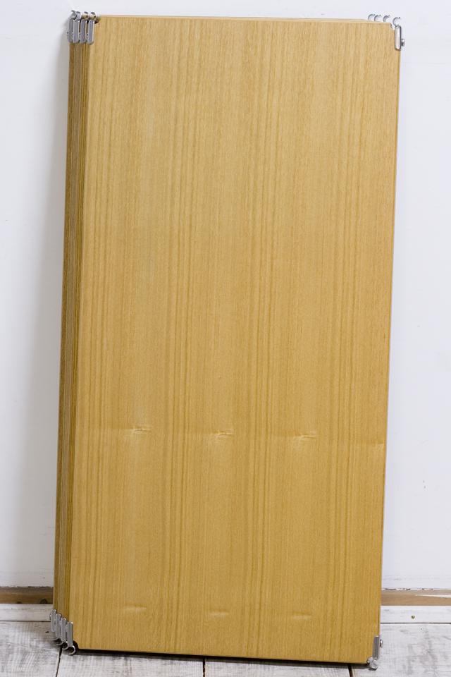 無印良品「ステンレスユニットシェルフ・タモ材棚セット・ワイド・中」-03