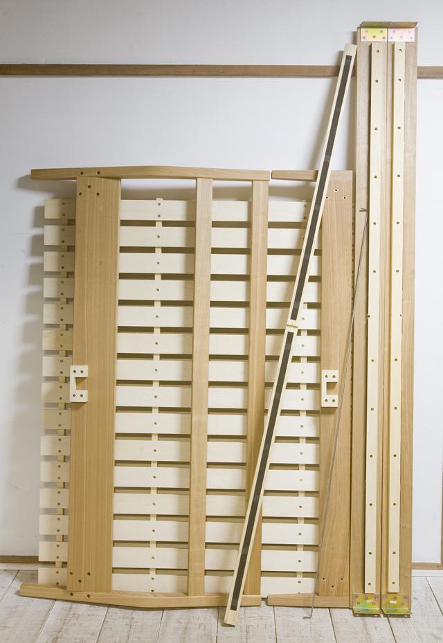 無印良品「タモ材ベッド・ダブル」-08