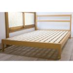 無印良品「タモ材ベッド・セミダブル」