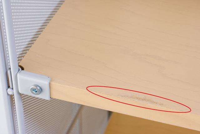 無印良品「スチールユニットシェルフ・木製棚セット・ワイド大・グレー」-04a