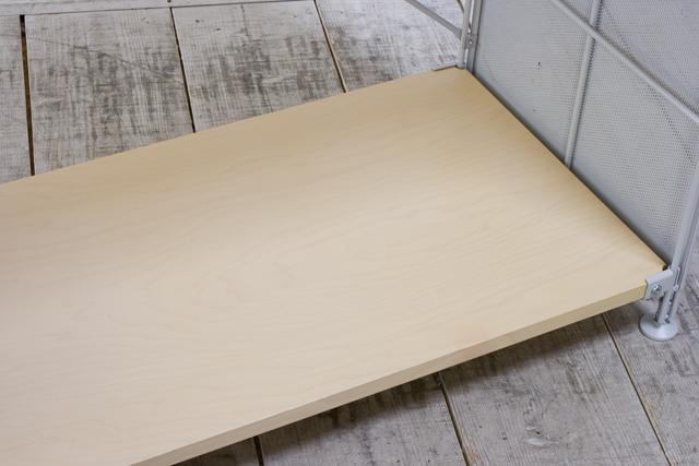 無印良品「スチールユニットシェルフ・木製棚セット・ワイド大・グレー」-06