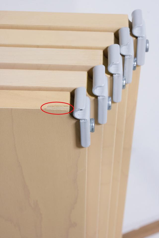 無印良品「スチールユニットシェルフ・木製棚セット・ワイド大・グレー」-10a