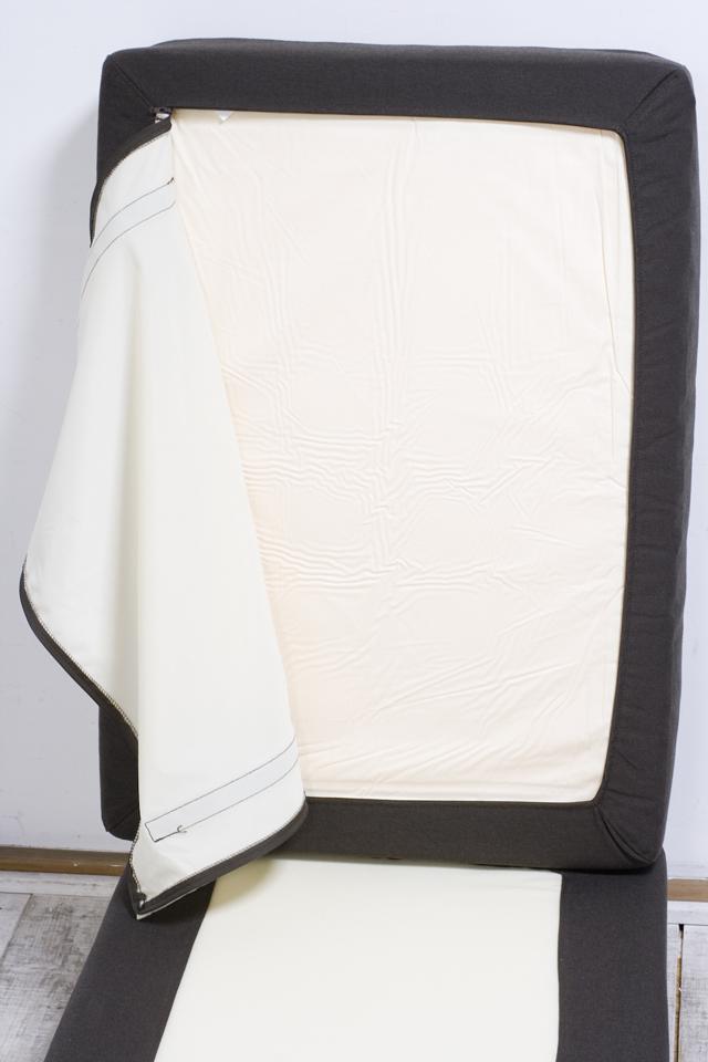 無印良品「オットマン・大・羽根ポケットコイルクッション」-05