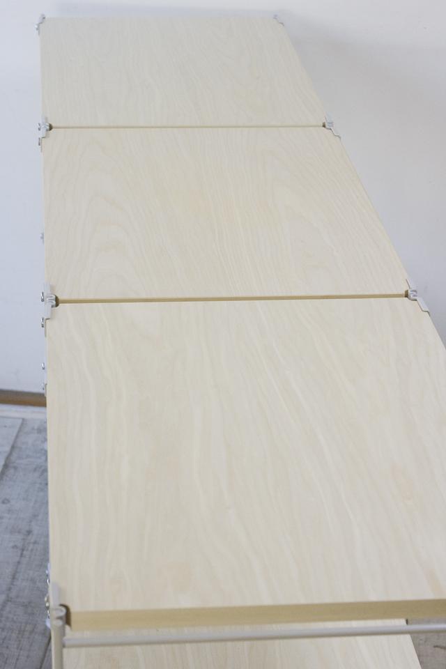 無印良品「スチールユニットシェルフ・木製棚セット」-04
