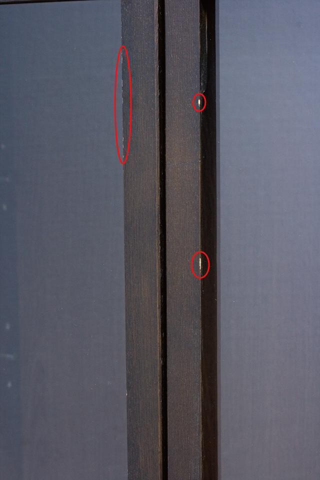 無印良品「木製キャビネット・ガラス扉・大・タモ材/ブラウン」-09a