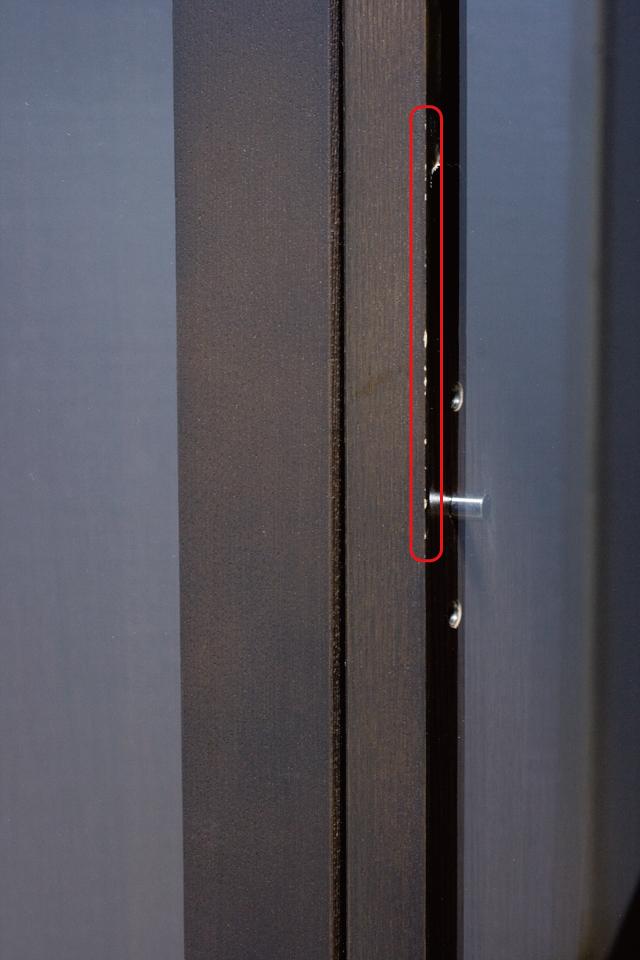 無印良品「木製キャビネット・ガラス扉・大・タモ材/ブラウン」-10