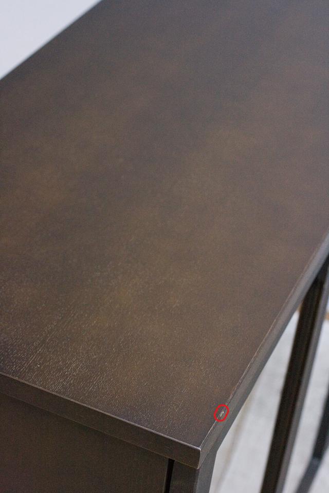 無印良品「木製キャビネット・ガラス扉・大・タモ材/ブラウン」-16