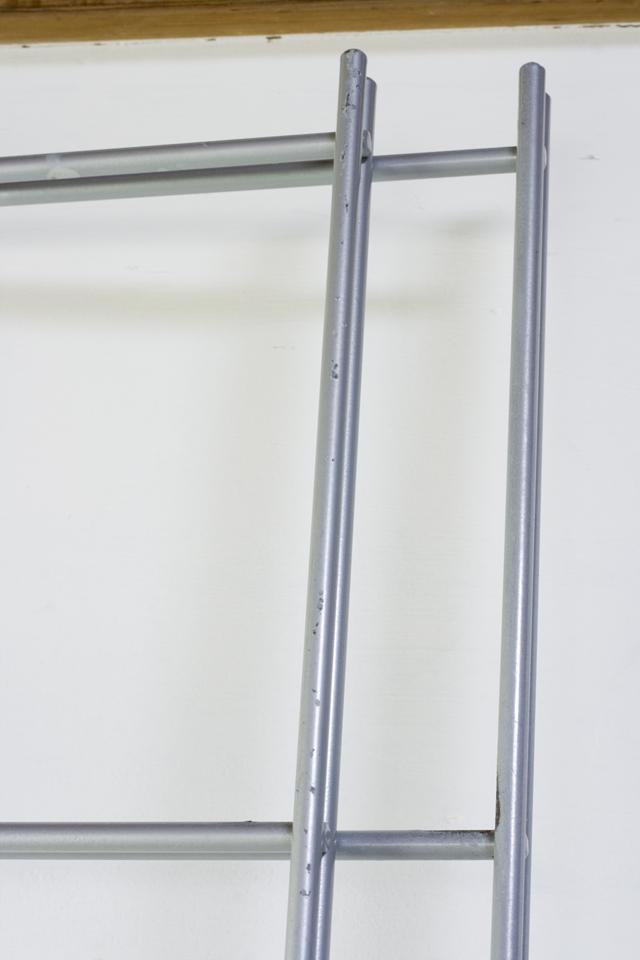 スチールユニットシェルフ・メープル材棚セット・ワイド大・シルバー-11