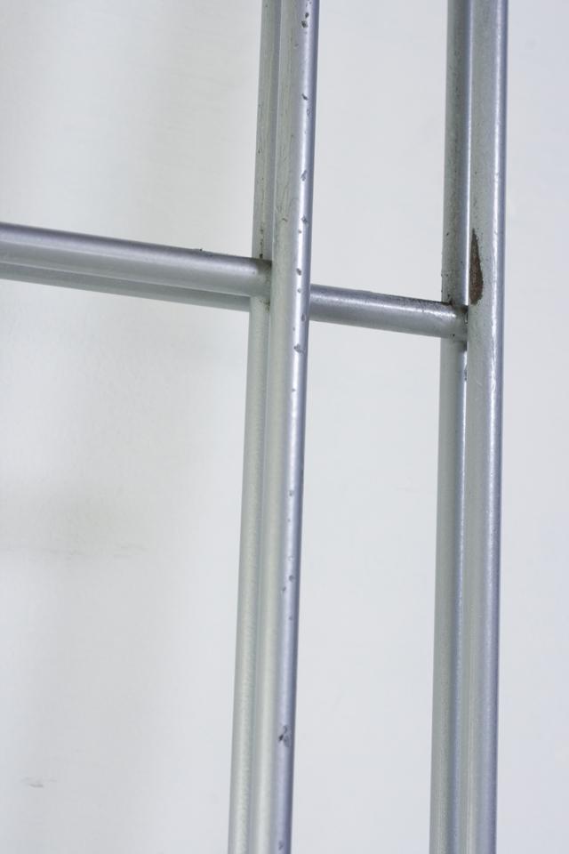 スチールユニットシェルフ・メープル材棚セット・ワイド大・シルバー-12