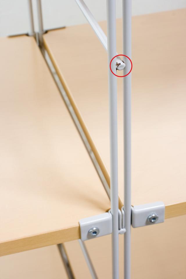 無印良品「スチールユニットシェルフ・木製棚4段セット」-05a
