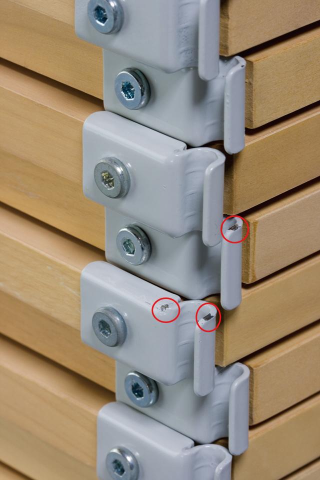 無印良品「スチールユニットシェルフ・木製棚4段セット」-12a