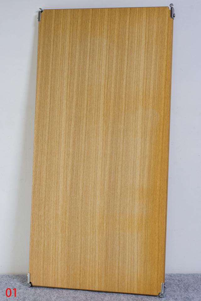 無印良品「ステンレスユニットシェルフ・タモ材棚セット・ワイド大」-06