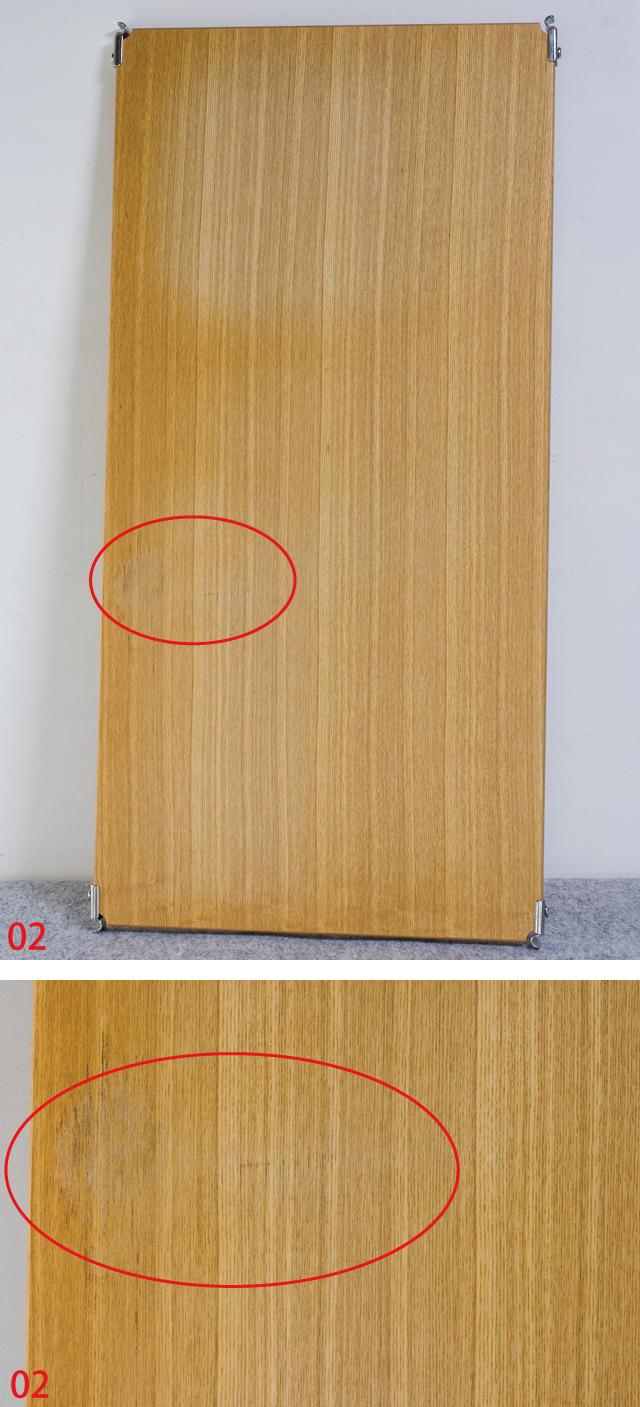 無印良品「ステンレスユニットシェルフ・タモ材棚セット・ワイド大」-07