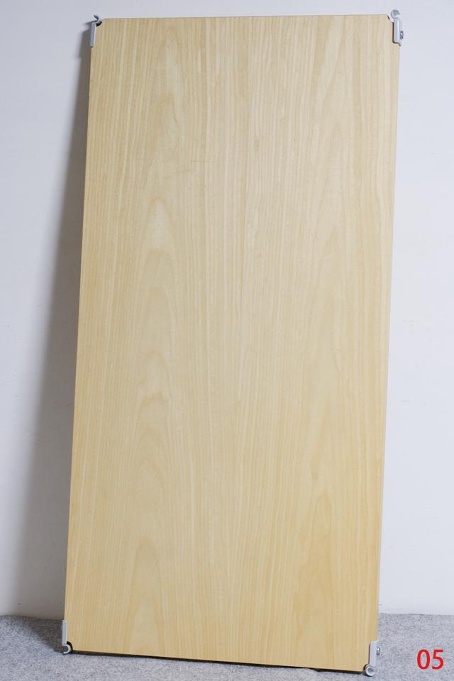 無印良品「スチールユニットシェルフ・木製棚セット・ワイド大・グレー」-10