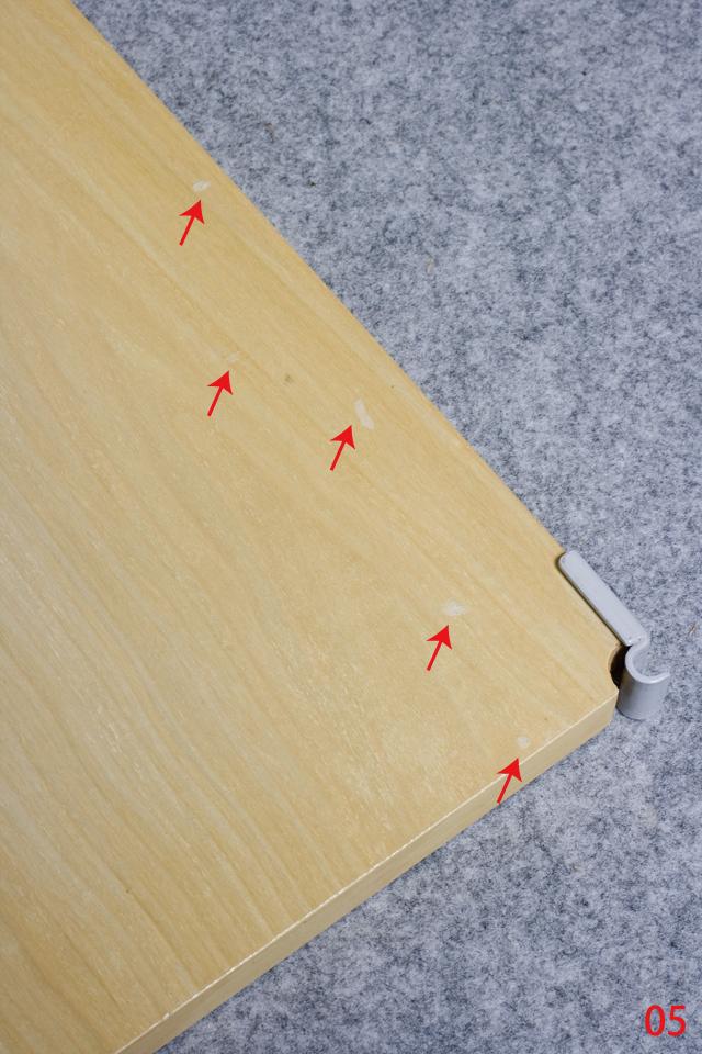 無印良品「スチールユニットシェルフ・木製棚セット・ワイド大・グレー」-11