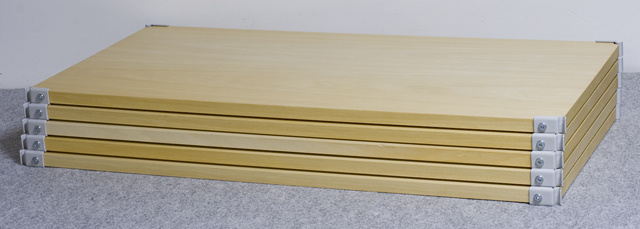 無印良品「スチールユニットシェルフ・木製棚セット・ワイド大・グレー」-13